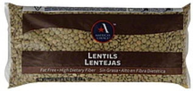 Americas Choice Lentils