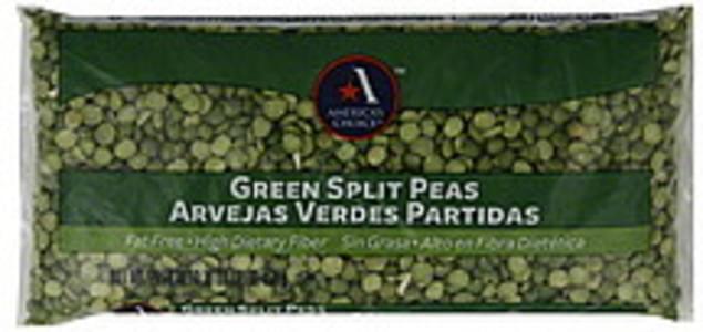 Americas Choice Split Peas Green