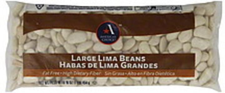 Americas Choice Lima Beans Large