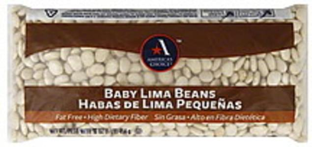 Americas Choice Lima Beans Baby