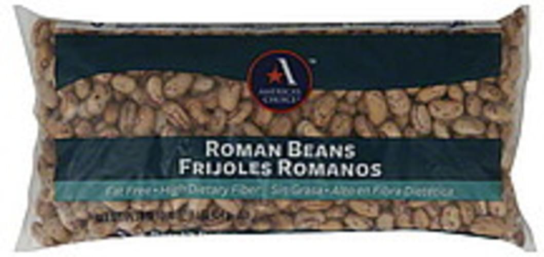 Americas Choice Roman Beans - 16 oz