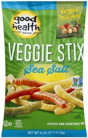 Good Health Sea Salt Veggie Stix - 6.25