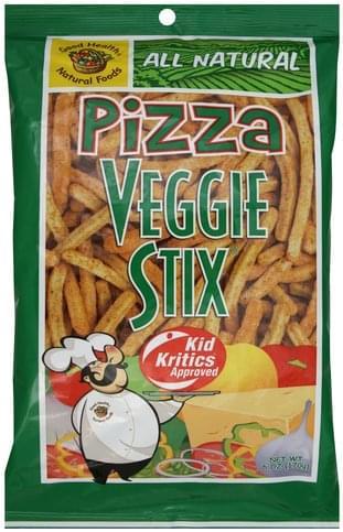 Good Health Pizza Veggie Stix - 6 oz