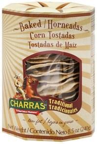 Charras Tostadas Corn, Baked