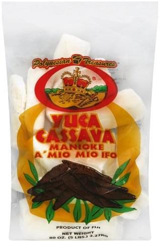 Polynesian Treasures Yuka Cassava - 80 oz
