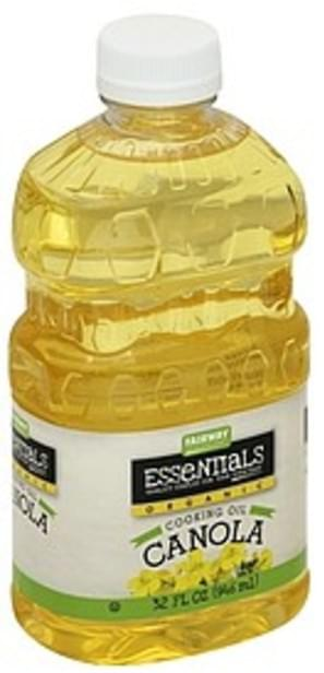 Fairway Organic, Canola Cooking Oil - 32 oz
