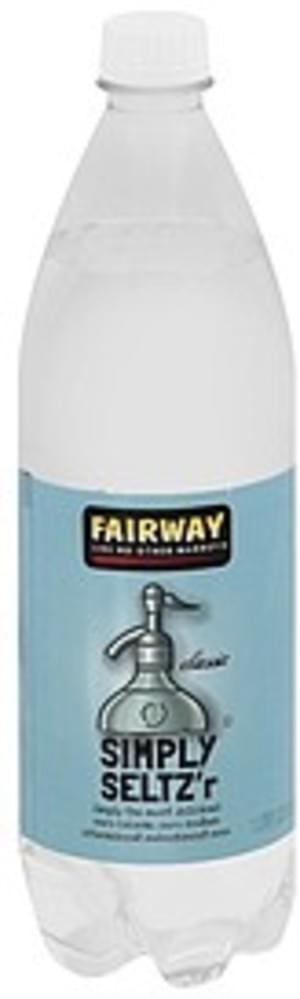 Fairway Classic Simply Seltz'r - 33.8 oz