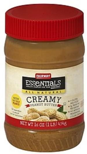Fairway Creamy Peanut Butter - 16 oz