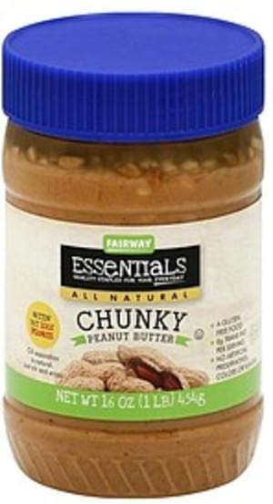 Fairway Chunky Peanut Butter - 16 oz