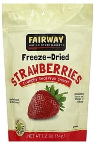 Fairway Freeze-Dried Strawberries - 1.2 oz