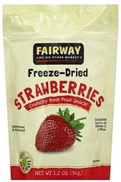 Fairway Strawberries Freeze-Dried