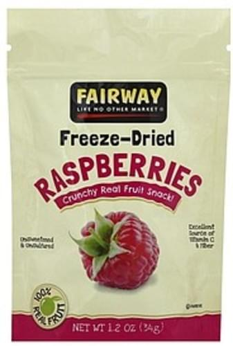 Fairway Freeze-Dried Raspberries - 1.2 oz