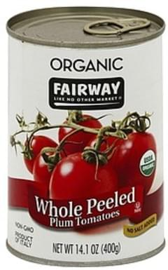 Fairway Tomatoes Peeled Plum, Whole