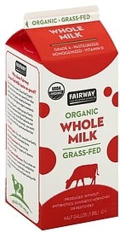 Fairway Milk Whole, Organic