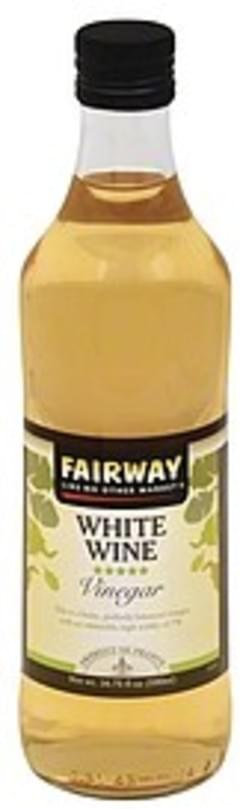 Fairway Vinegar White Wine
