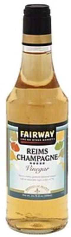 Fairway Vinegar Reims Champagne