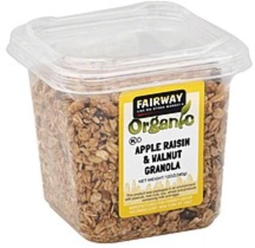 Fairway Apple Raisin & Walnut Granola - 12 oz