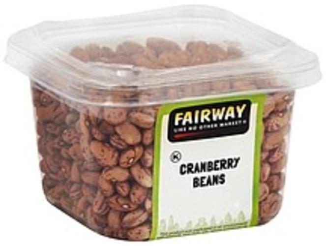 Fairway Cranberry Beans - 14 oz