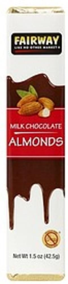 Fairway Milk Chocolate Almonds