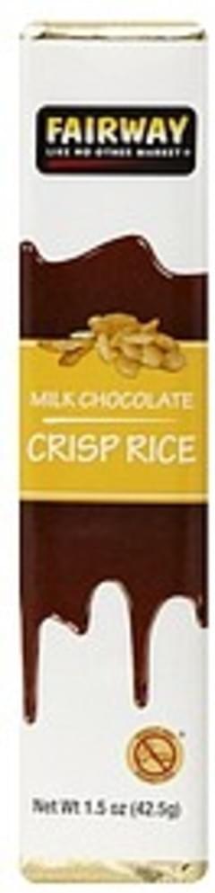Fairway Milk Chocolate Crisp Rice