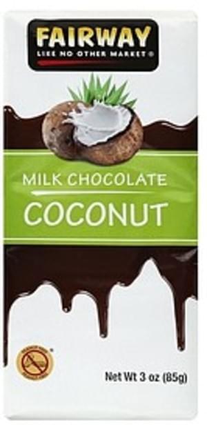 Fairway Coconut Milk Chocolate - 3 oz