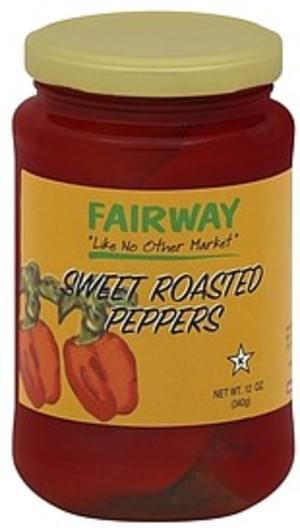 Fairway Slow Roasted Peppers - 12 oz