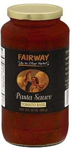 Fairway Pasta Sauce Tomato Basil