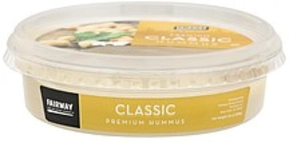 Fairway Premium, Classic Hummus - 10 oz