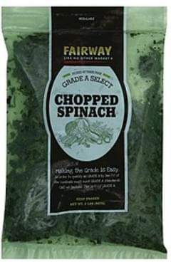 Fairway Spinach Chopped