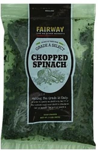 Fairway Chopped Spinach - 2 lb