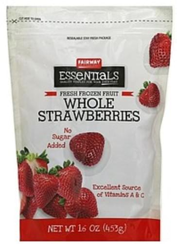 Fairway Whole Strawberries - 16 oz
