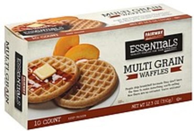Fairway Multi Grain Waffles - 10 ea