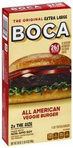 Boca Veggie Burger All American