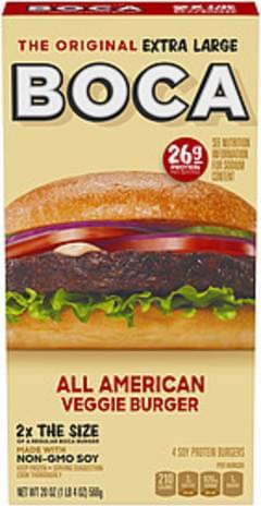 Boca Burger All American Veggie