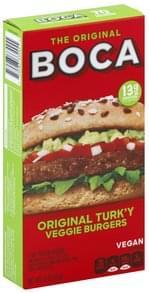 Boca Veggie Burgers Original Turk'y, The Original
