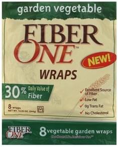 Fiber One Wraps Vegetable Garden