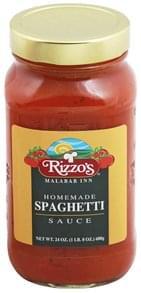 Rizzos Sauce Homemade Spaghetti
