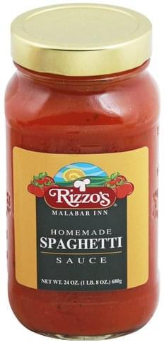 Rizzos Homemade Spaghetti Sauce - 24 oz