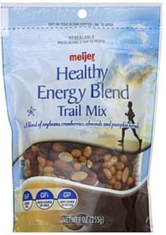 Meijer Trail Mix Healthy Energy Blend