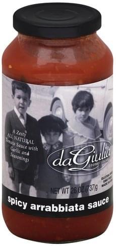 daGiulia Spicy Arrabbiata Sauce - 26 oz