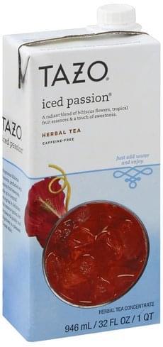 Tazo Iced Passion, Caffeine-Free Herbal