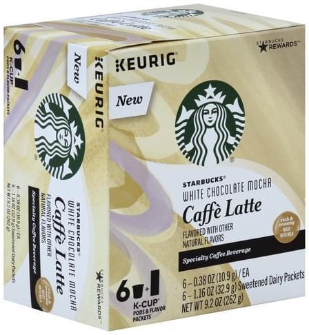 Starbucks Caffe Latte, White Chocolate