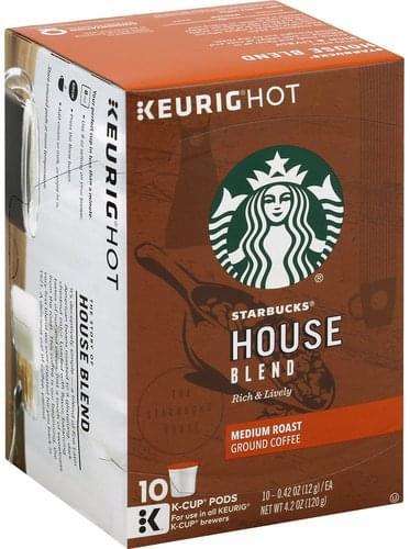 Medium Roast, House Blend, Pods Coffee