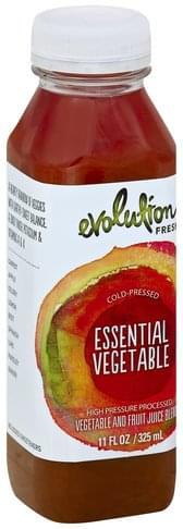 Evolution Fresh Vegetable and Fruit, Essential Vegetable Juice Blend - 11 oz