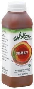 Evolution Fresh Juice Blend Vegetable and Fruit, Organic V