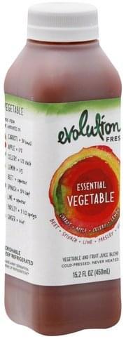 Evolution Fresh Vegetable and Fruit, Essential Vegetable Juice Blend - 15.2 oz