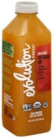 Evolution Fresh Fruit Juice Smoothie Cold-Pressed, Organic, Defense Up