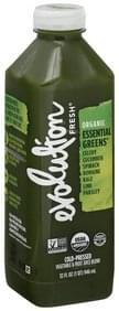 Evolution Fresh Vegetable & Fruit Juice Blend Cold-Pressed, Organic, Essential Greens