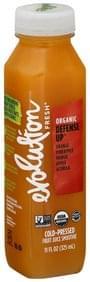 Evolution Fresh Fruit Juice Smoothie Organic, Cold-Pressed, Defense Up