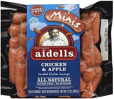 Minis Smoked Chicken Sausage